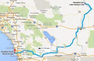 Dag 10 - 316 miles - 509 km