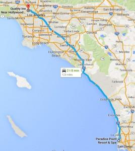 Dag 11 - 123 miles - 198 km