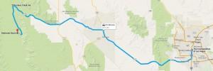 Dag 5 - 251 miles - 404 km