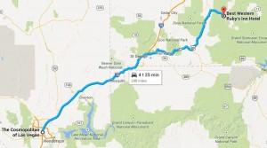 Dag 6 - 248 miles - 399 km