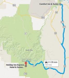 Dag 8 - 138 miles - 222 km