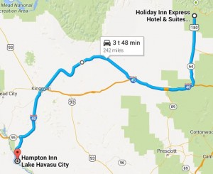 Dag 9 - 242 miles - 389 km