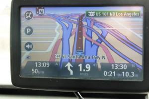 På vej mod LA